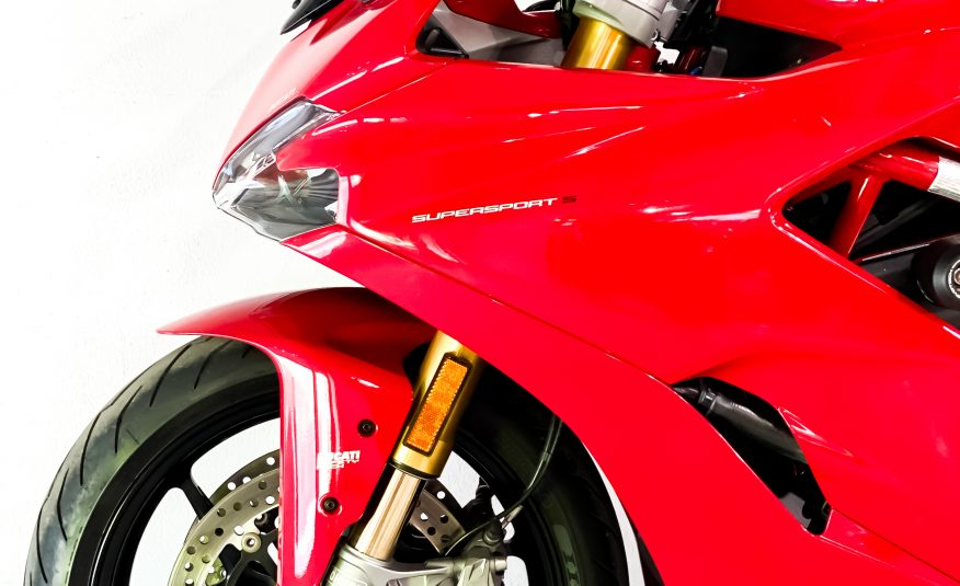 2019 Ducati Supersport S Red